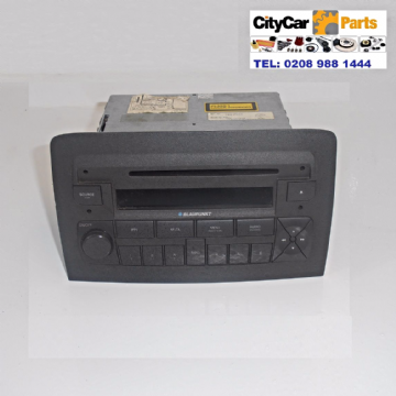 FIAT IDEA MODELS 2004 TO 2007 BLAUPUNKT RADIO STEREO CD PLAYER UNIT PLUG AND PLAY